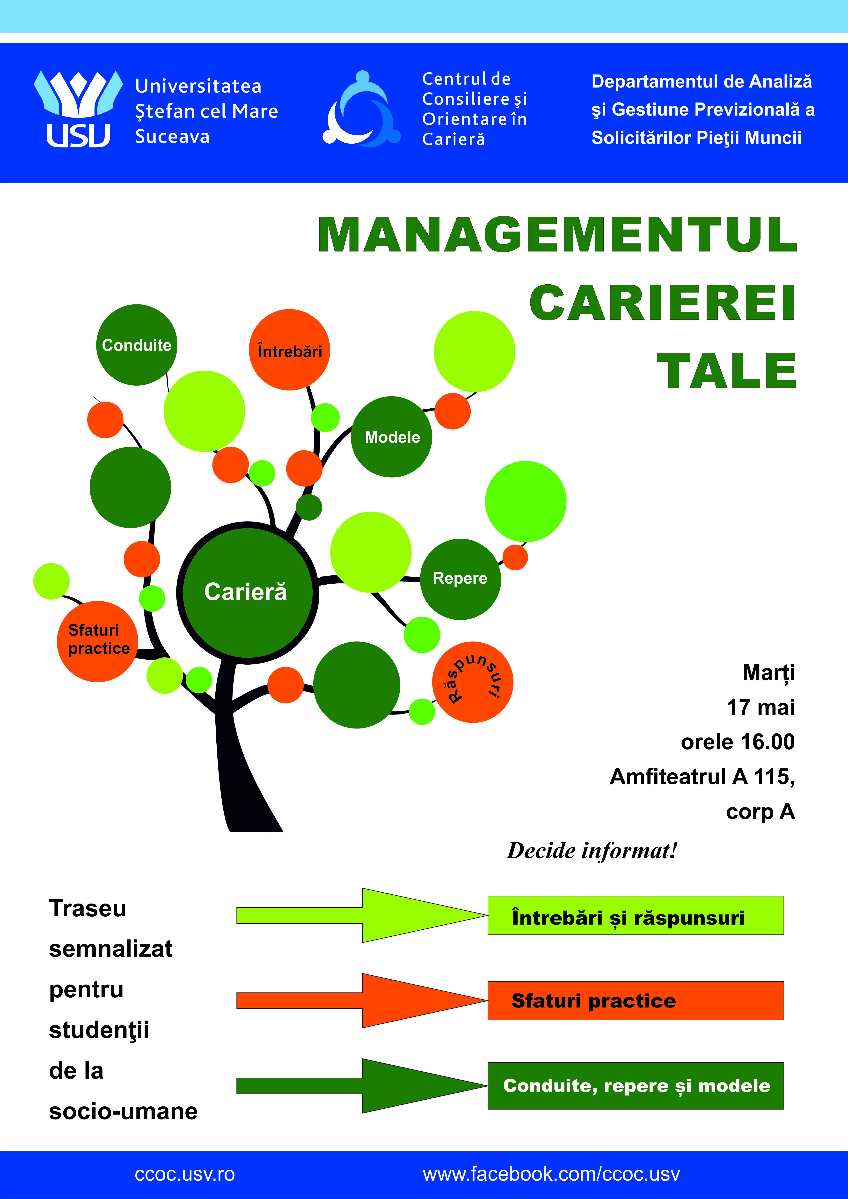 Managementul Carierei Tale - CCOC
