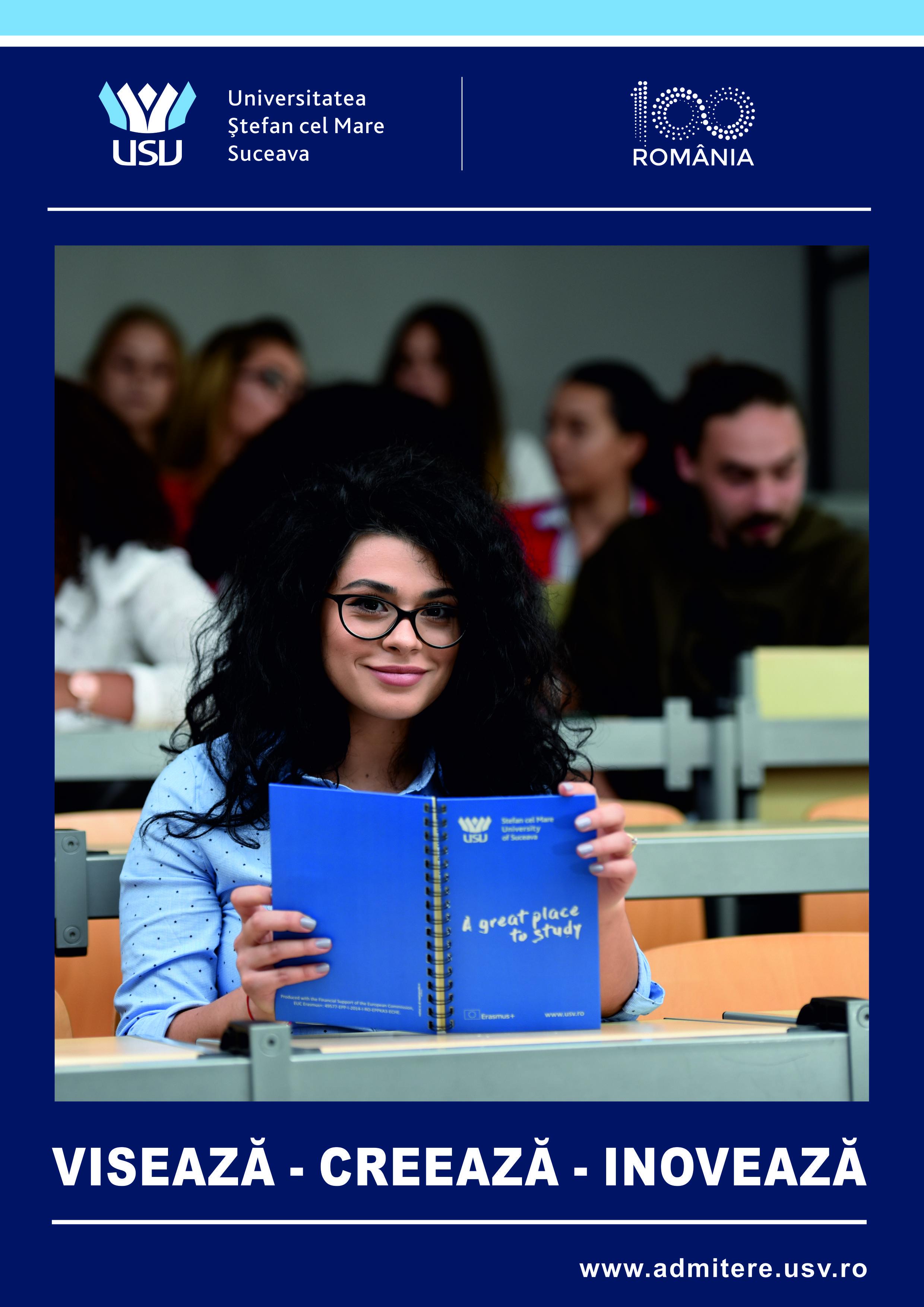 """Sesiunea de admitere septembrie 2018 la Universitatea """"Ştefan cel Mare"""" din Suceava"""