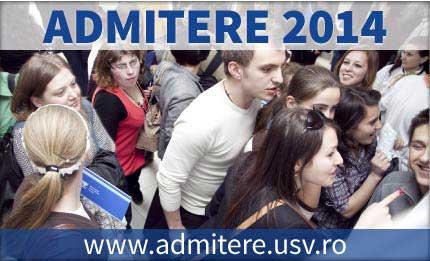Admitere 2014